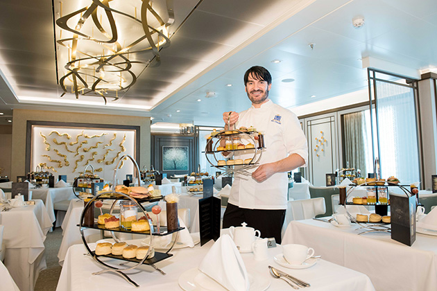 Afternoon Tea in The Epicurean by Eric Lanlard