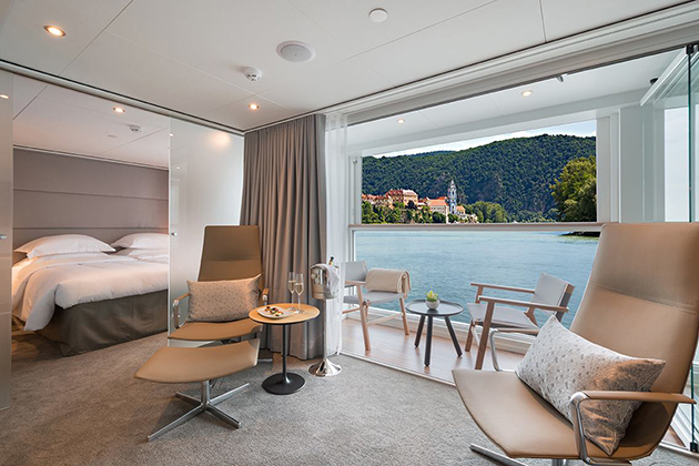 Emerald Waterways' Grand Balcony suite