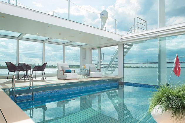 Swimming Pool on Emerald Waterways