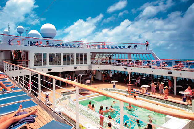 Pool Deck on Magellan