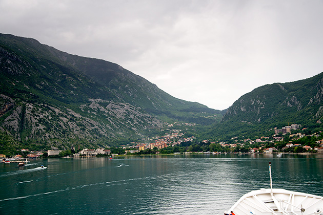 Boudicca in the Bay of Kotor
