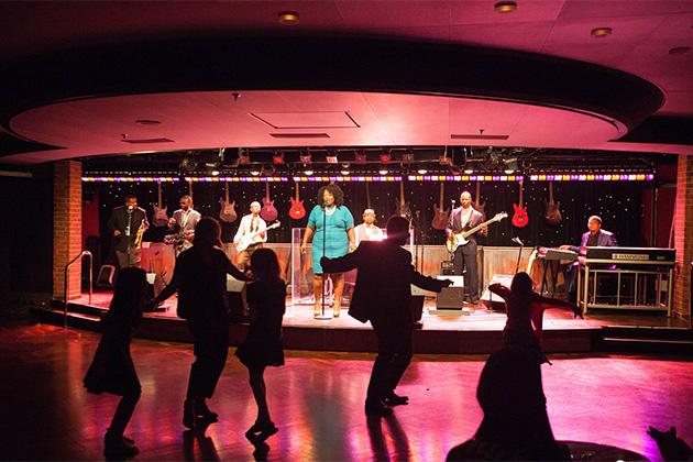 B.B. King's Blues Club on the Eurodam