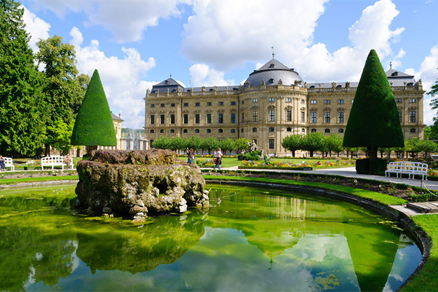 The Residenz of Wurzburg, Germany