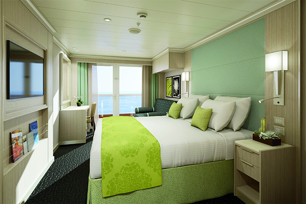 Spa Verandah cabin on Koningsdam
