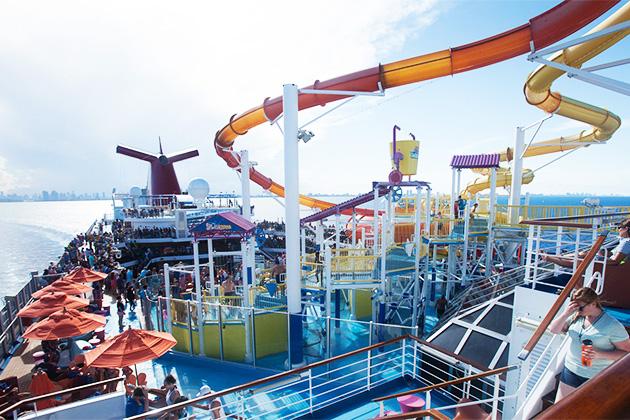 Best Cruise Ship Sun Decks Cruise Critic - Best cruise ship water slides