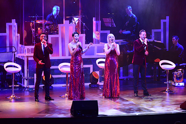 Live show on Britannia's Headliners Theatre