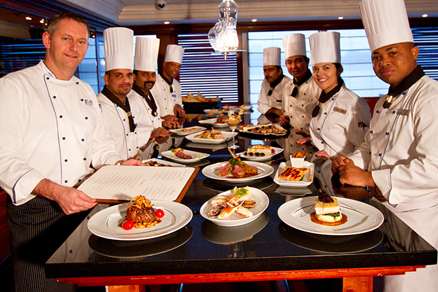 Chefs from Azamara Club Cruises