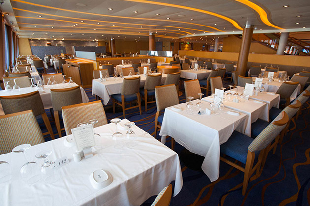American Feast place settings & American Table and American Feast on Carnival Cruise Line (Plus Menu)