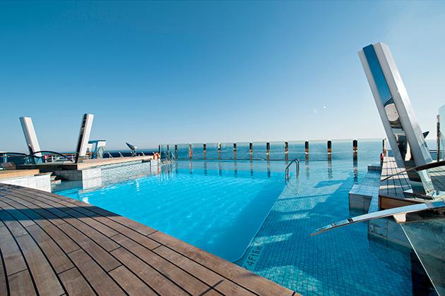 The Infinity Pool on MSC Divina
