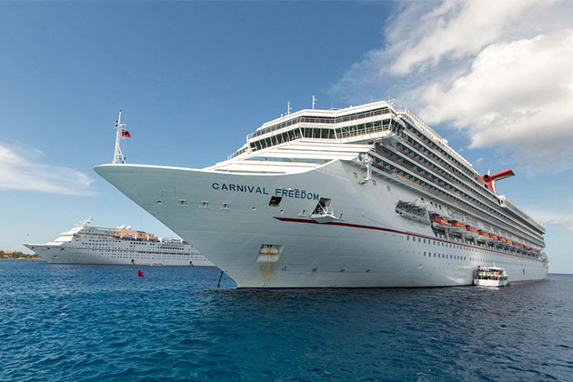 Carnival Freedom At Sea