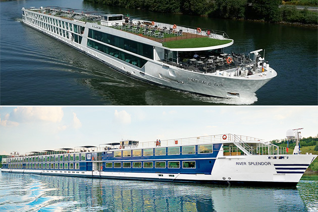 Emerald Waterways vs. Vantage Deluxe World Travel