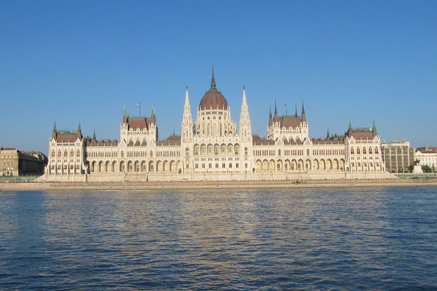 View of the Budapest Parliament Building from Emerald