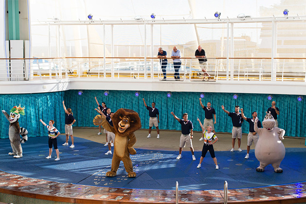 DreamWorks performance on Allure of the Seas