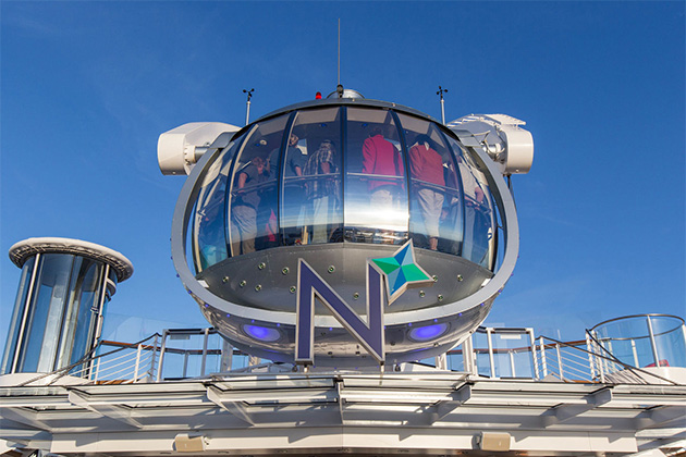 The North Star on ANthem of the Seas