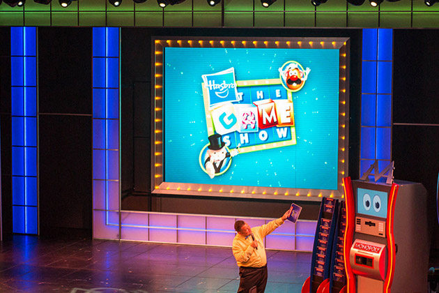 Host of Hasbro, the Game Show