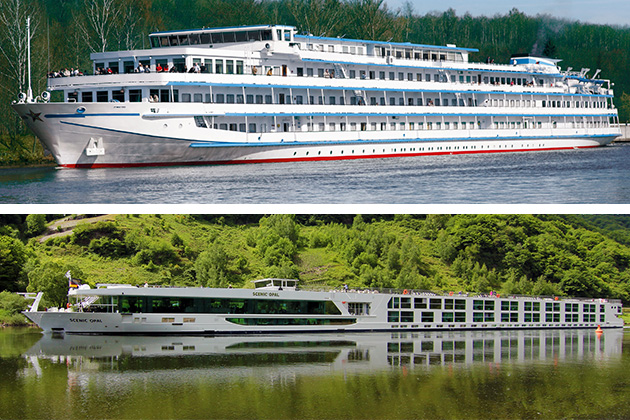 Uniworld vs. Scenic river cruises