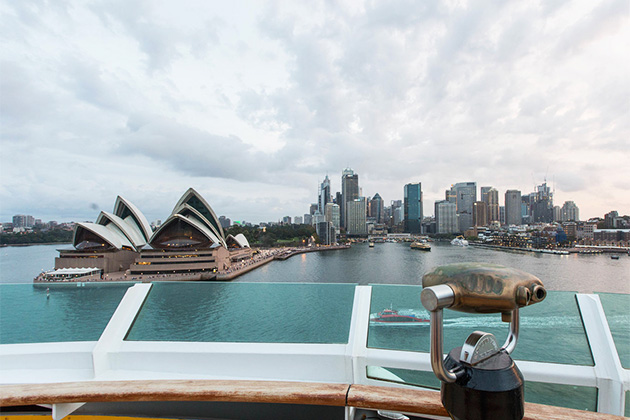 View of Sydney from Radiance of the Seas