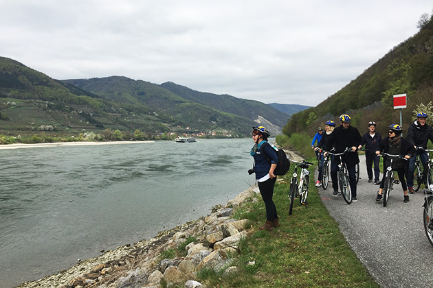 Bicycling along the Danube