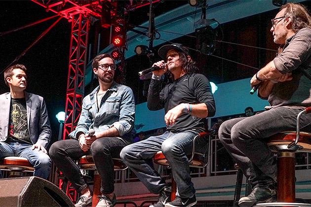 Celebrity panel on the Walker Stalker Cruise