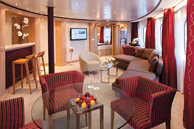 Seabourn owner's suite