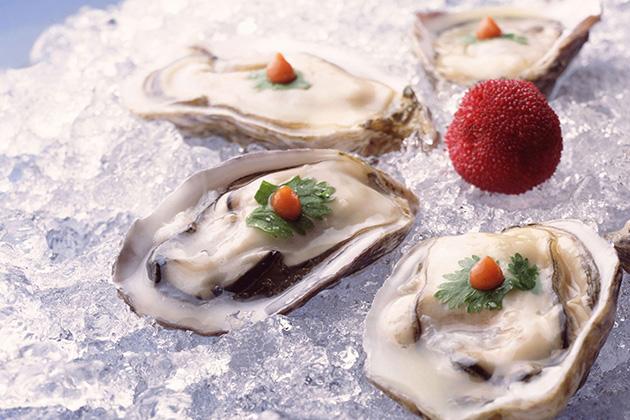 Nobu oyster plate