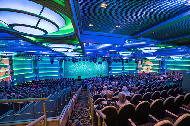 Princess Theater on Regal Princess