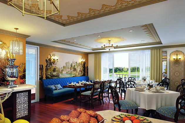 Uniworld's S.S. Maria Theresa Suite