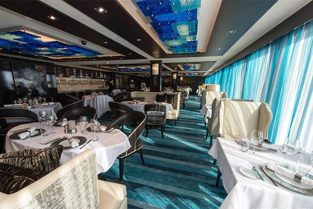 The Haven Restaurant on Norwegian Escape