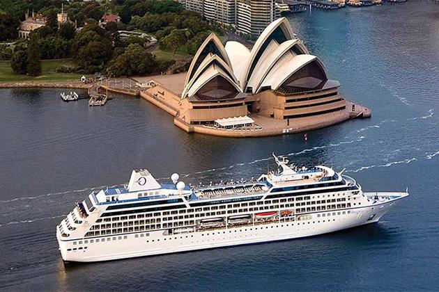 An Oceania Australia cruise