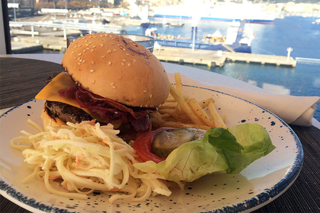 Viking Star's Viking Burger