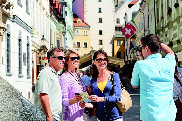 City tour in Bratislava, Slovakia
