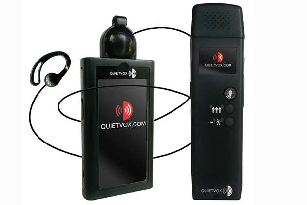 Quietvox headset