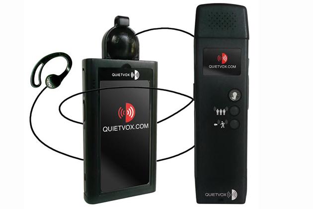 Quietvox headset