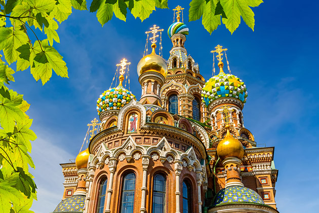 Church of the Savior on Spilled Blood in St. Petersburg, Russia