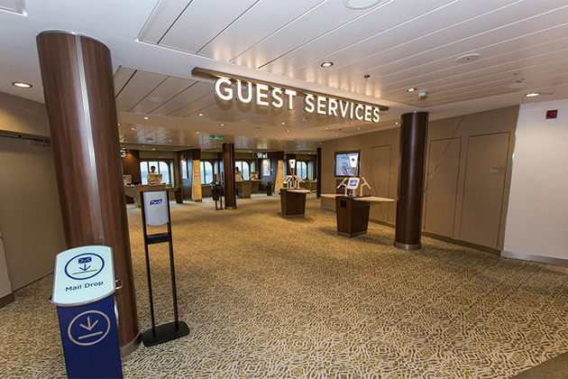 Guest Services on Anthem of the Seas