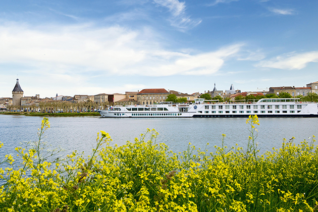 Uniworld's River Royale in Blaye, France