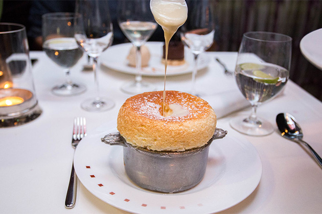 Souffle from Celebrity Cruises' Murano