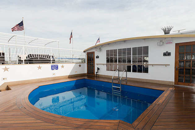 The Pool on American Queen