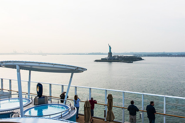 Cape Liberty Vs Manhattan Cruise Port Cruise Critic