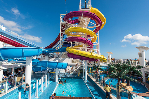 Norwegian Breakaway's Water Park