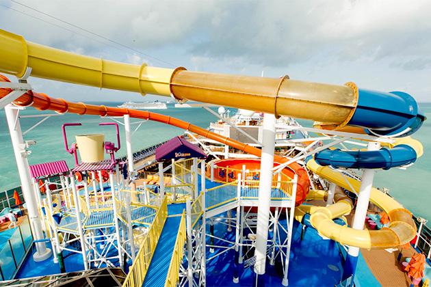Carnival Magic's WaterWorks