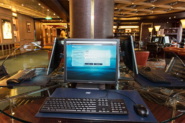 Connecting At Sea Internet And Phone Use Onboard Cruise Critic - Internet connection on cruise ships