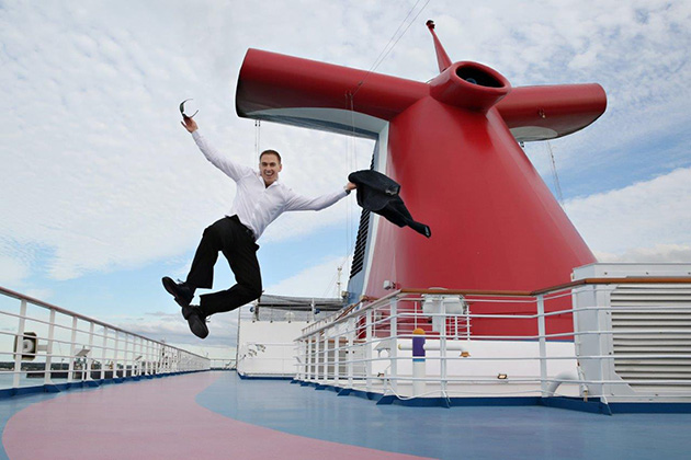 Eli Sharplin, Carnival Cruise Line Cruise Director