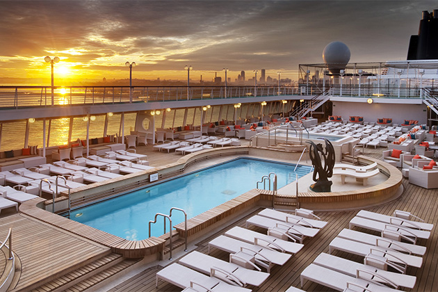 10 best cruise ship sun decks cruise critic for Balcony on cruise ship