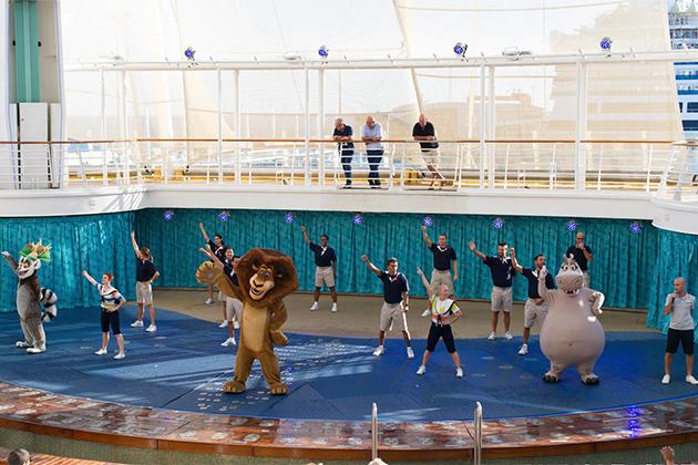 Aqua Theater on Allure of the Seas