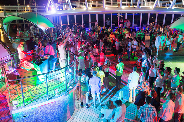 Dancing Under the Stars Poolside Party on Enchantment of the Seas