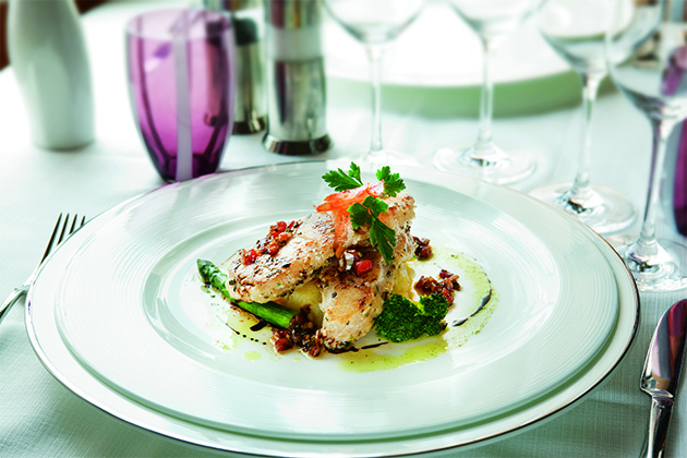 Cuisine on Silversea