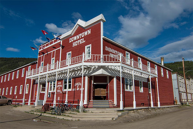 Dawson City Downtown Hotel