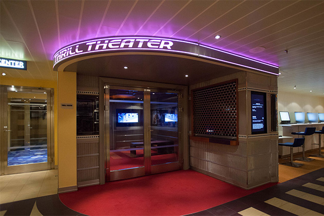 Thrill Theater on Vista's sister ship Carnival Breeze