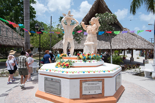 Living History Mayan Traditions and Island Tour at Cozumel Port